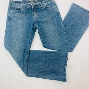 American Eagle Womens Jeans 12 Blue Hipster Boot